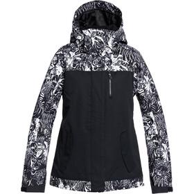 Roxy Jetty Block Snow Jacket Women true black tiger camo